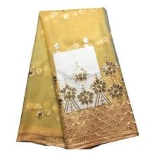 Me-dusa/высококачественное модное кружевное платье с блестками и цветочным узором, африканский кружевной французский Фатин, кружевное свадебное платье, ткань, 5 ярдов/шт