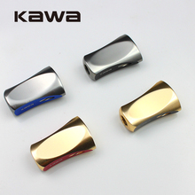 KAWA 2pcs/lot Hot Sale DIY Fishing Reel Handle Double Color Knob for Daiwa Shimano Abu Reels Fishing Accessory