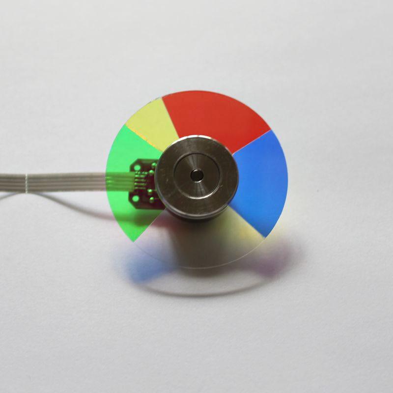 Nouveau projecteur couleur roue pour BENQ MP724 MP727 MP670 livraison gratuite-in Projecteur Accessoires from Electronique    1