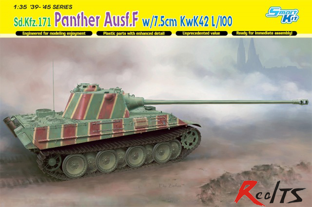 RealTS Dragon 6799 1/35 Sd.Kfz.171 Panther Ausf.F w/7.5cm KwK42 L/100 - Smart Kit
