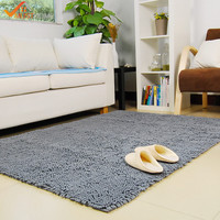 120x180cm Home Carpets Chenille Living Room Rugs And Carpets Solid Modern Carpets For Bedroom