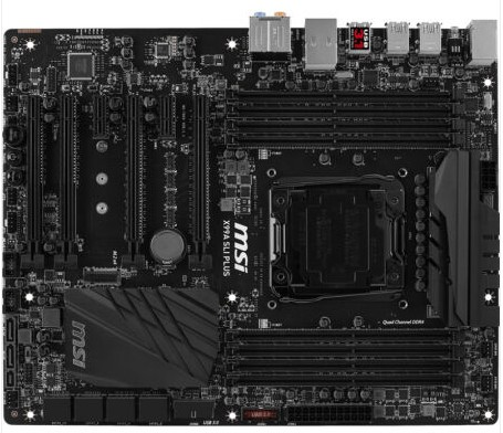 X99A SLI PLUS Motherboard Military Classic Classic X99 Turbo M 2 usb3 1