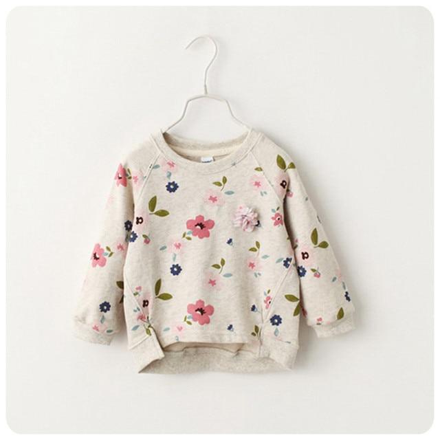 2016 New KIDS Boy Girls Sweater Vintage Baby Girls thanks Jumper Spring Autumn KIDS Costume, children's coat