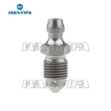 Wanyifa Titanium Bolt M10 1.0 1.25mm Pitch Motorcycle Calipers Oil Drain Deflation Screws
