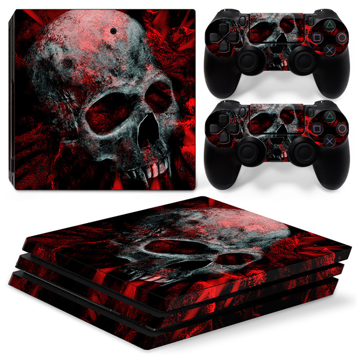 Custom Games Decal Sticker for Sony PS4 Pro game accessories skin for playstation4 pro