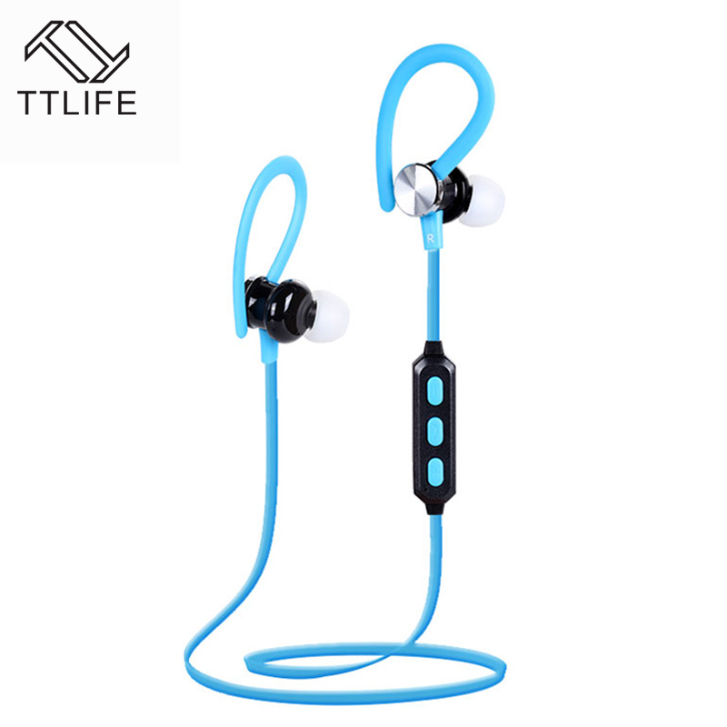 TTLIFE high quality Wireless Bluetooth Earphone Headphone Bluetooth 4.1 HIFI Stereo Sport Running Headset Sweatproof With Mic high quality colorful cheap price hifi fever sport earphone headset smartphone tablet headphone with mic for adult and kid lady