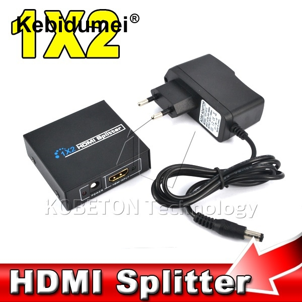 Diligent 1x2 1 To 2 Hdmi Splitter Hdmi Switch 5v 1a Adapter Usb Power Supply Cable For Xbox 360 Ps3 1080p 3d Hdtv Hdcp Tv Audio Video Elegant Appearance