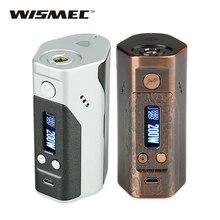 Wismec рел DNA200 TC коробка мод Макс 200 Вт электронные сигареты DNA мод TC/VW режимы нет 18650 Батарейный блок мод vs RX200s/Drag