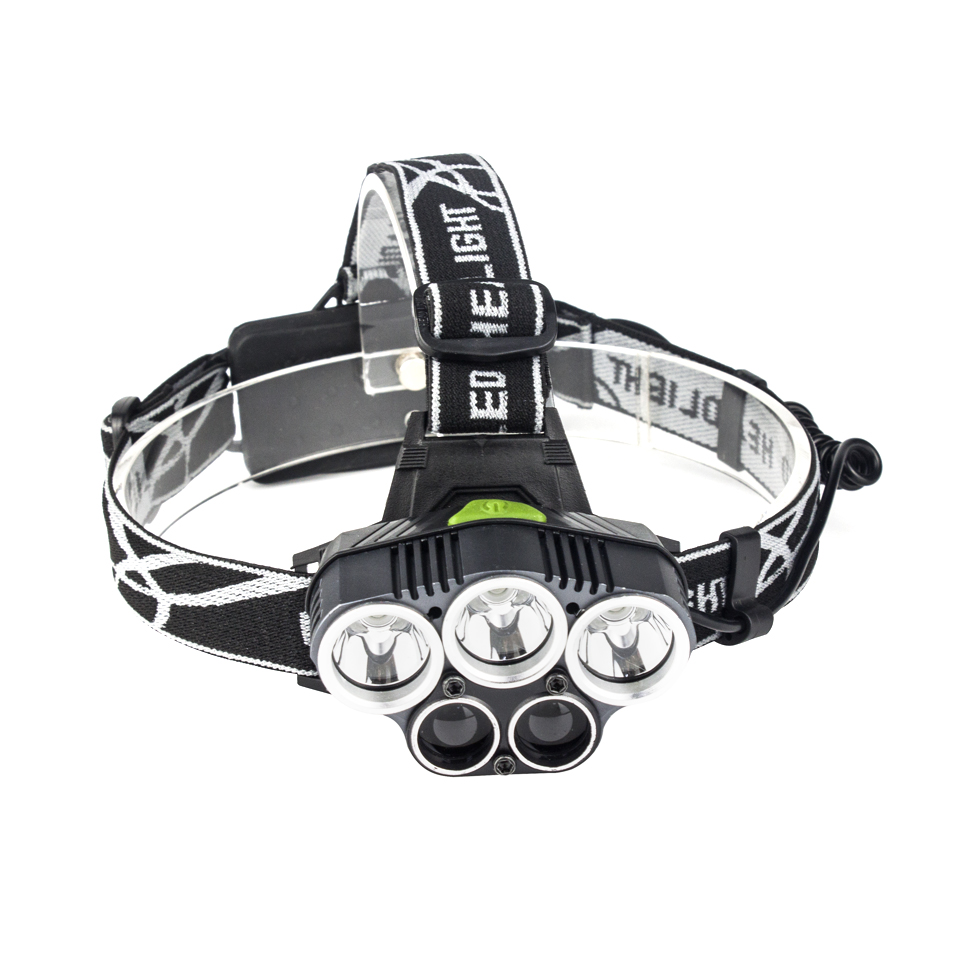 5 CREE LED Headlamp XML T6 Q5 USB Charge LED Headlight 15000 Lumens 18650 Battery LED Head Lamp for Fishing Camping