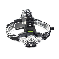 5 CREE LED Headlamp XML T6 Q5 USB Charge LED Headlight 15000 Lumens 18650 Battery LED
