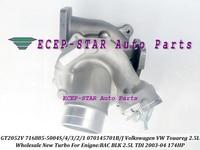 GT2052V 716885 716885 5004 s 716885 0004 070145701J 070145701JV 070145701JX Turbo Para VW Touareg 2003 06 BAC BLK 2.5L TDI 174HP|turbo turbocharger|turbo t4turbocharge -