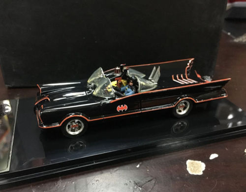 1/43, Resin, Batman, Batmobile, Car, 1966, handmade, Rare 1 18 scale 1995 batman forever batmobile by hot wheels page 5
