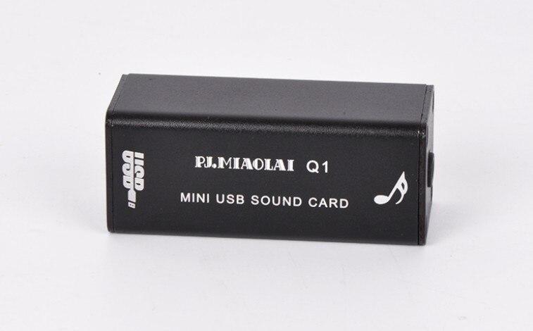 Unterhaltungselektronik GroßZüGig H1/q1 Pcm2704 Computer Soundkarte Dac Digital Eingang 3,5 Usb Externe Soundkarte Audio Ausgang Heißer Verkauf