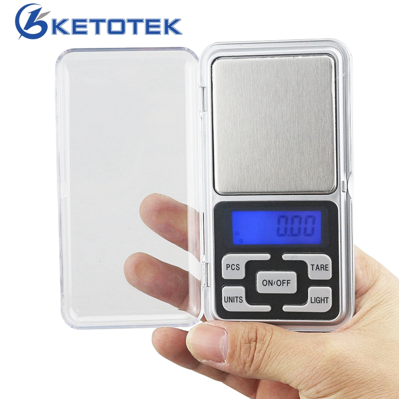 200g 500g 0.01g 0.1g Electrinoc Jewelry Scale Weighing Balance Packet Scales Mini Scale for Gold