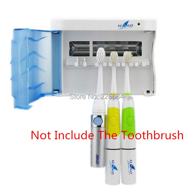 New Ultraviolet Uv Ozone sonic electric toothbrush sterilizer for sterilization wall-mounted case Brush Holder Creative life