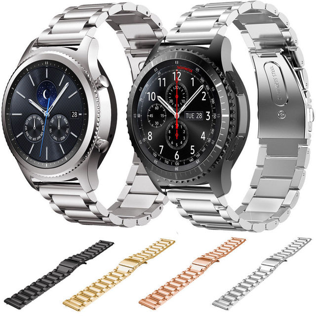 For huawei 2 Stainless Steel Link Bracelet  Watch Strap for Huawei Watch 2 Bands Replacement Watch Bracelet with Quick Release