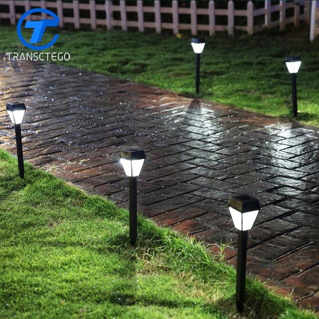 transctego solar licht outdoor rasen bewegungsmelder lampe led solar gartenbeleuchtung. Black Bedroom Furniture Sets. Home Design Ideas