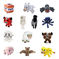 Minecraft Toys Soft Stuffed Doll Cartoon Animal Plush Toy Brinquedos Children Kids Gift Free Shipping
