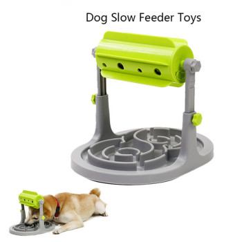 Food Treated Dog Toys Food Feeder Educational Dog Puzzle Toys  Interactive IQ Training Game Toy Anti Choke Slower Feeder  Bowl