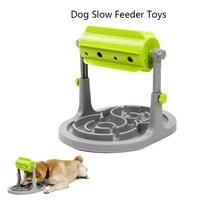 Brinquedos de cachorro tratados  alimentador de alimentos  brinquedos educativos  quebra-cabeça interativo  jogo de treinamento  anti-choque  alimentador lenta  tigela