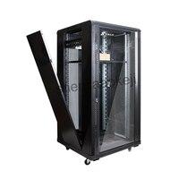 22U キャビネット Web サーバキャビネットネットワークラックサーバ保存プログラム制御スイッチングキャビネットモニター 1pc -