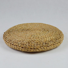 Handmade Cattail Straw Braid Mat Meditation Cushion Tatami Futon Thickening Yoga Circle Chair Cushions Japanese Style