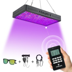 Famurs led grow light 1000 W/1200 W/1500 W/2000 W/3000 W Volledige Spectrum afstandsbediening Timer Veg/Bloom controle lamp voor planten groeien tent box