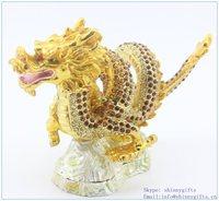 Wholesale Jewelry Box Dragon Shape Trinket Box For Home Decoration SCJ737