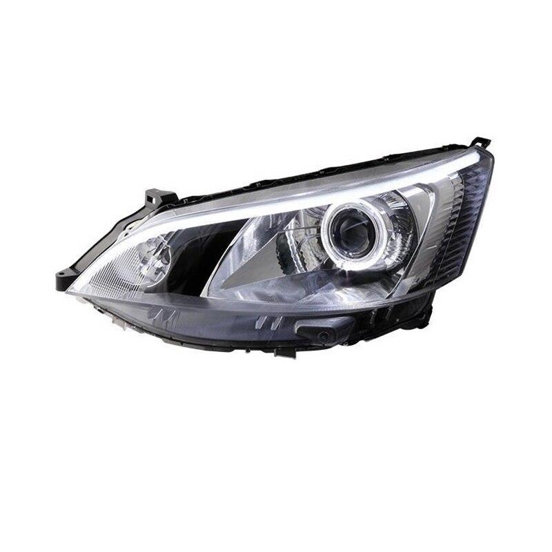 Кроссовки Стайлинг лампа Assessoires Neblineros Para Drl Запчасти Светодиодные Автомобильные фары сборки Cob автомобилей освещения фары для Nissan Nv200