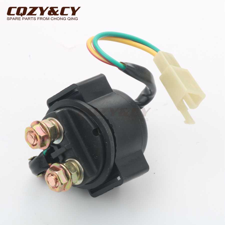 5e71c824a Scooter Starter solenoid   relay for SYM Orbit 1 Symply 50 Fiddle 2 50cc 4-