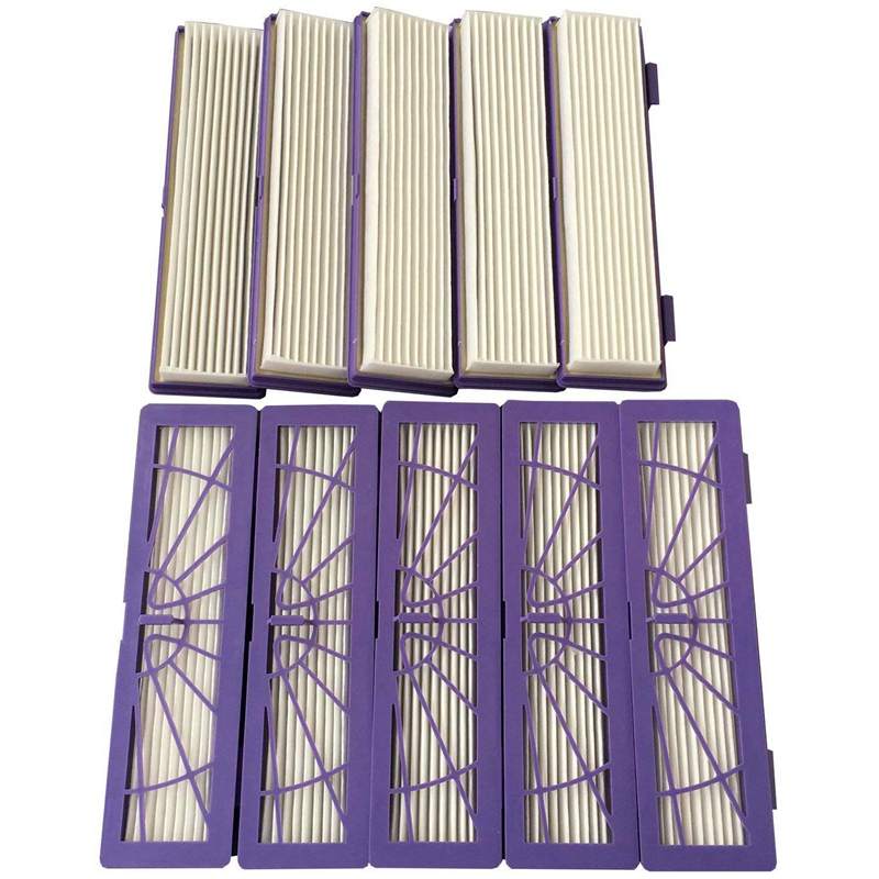 Hot Sale 9-pack Hepa Performance Filters for all Neato Botvac Series models 70e 75 80 85 D3 D5 Series Vacuum Cleaner Replacement 5pcs replacement hepa dust filter for neato botvac 70e 75 80 85 series d5 robotic vacuum cleaners robot parts