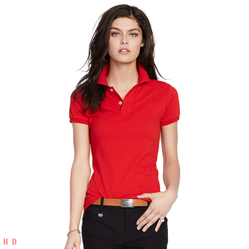 Summer Polo Shirt Women New Casual Short Sleeve Slim Polos Shirts Tops Female Cotton Polo Shirt Fashion Blouses & Shirts