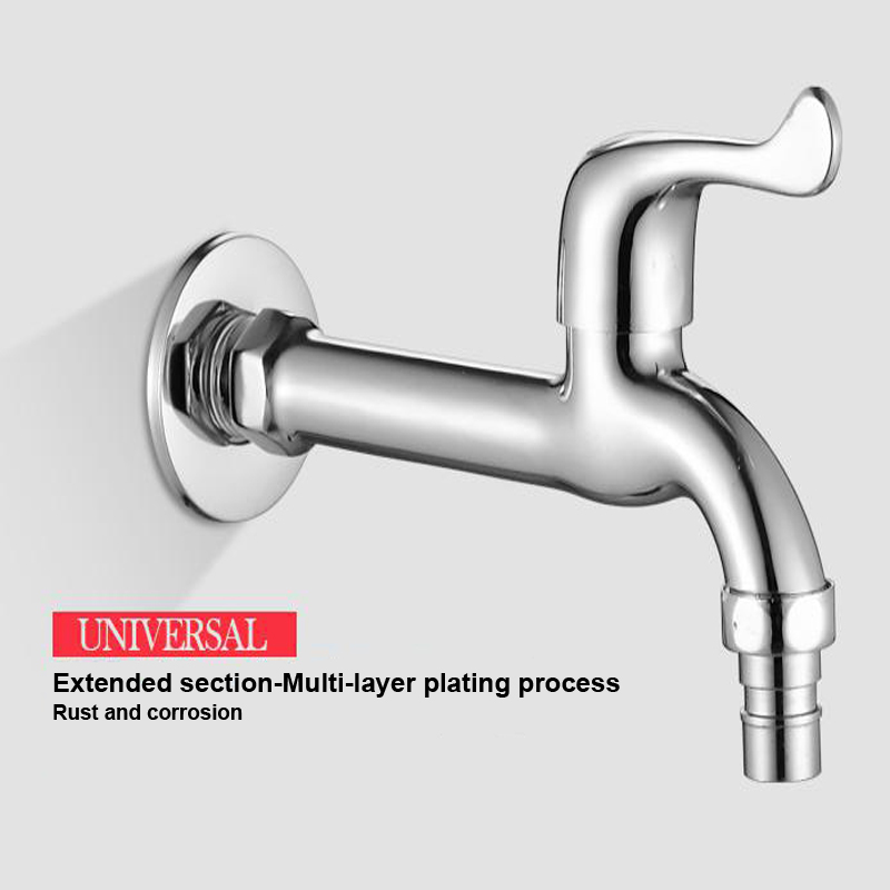 Free Shipping Brass Time Delay Faucet Touch Press Auto Self Closing cold Water Saving Tap for Public Toilet Metered Faucet 11.11