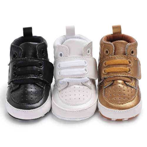 PUDCOCO Newborn Baby Boy Girl Soft Sole Crib Shoes Warm Winter Leather Boots Anti-slip Sneaker Boot 0-18M