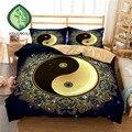 Набор постельного белья HELENGILI с 3D принтом Yin Yang  пододеяльник с наволочкой  набор домашнего белья #2-10