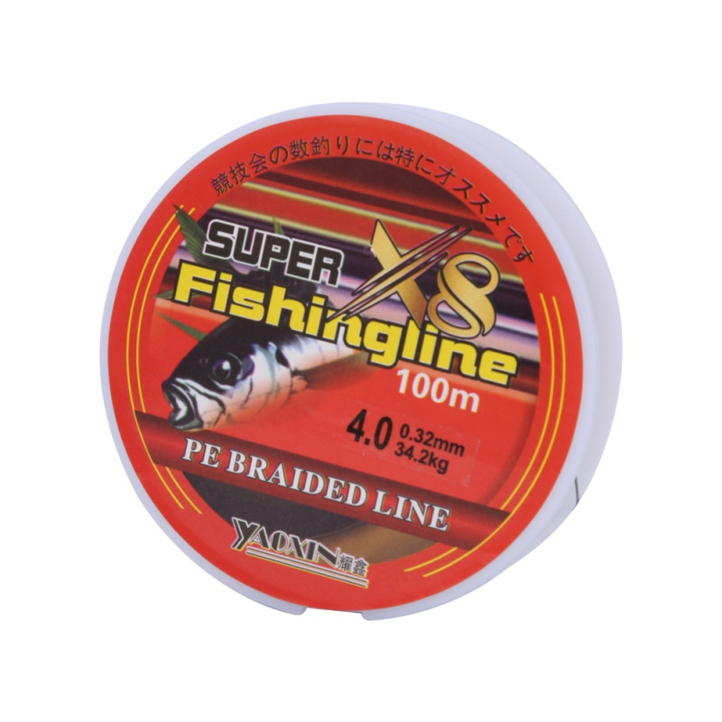 100M PE Multifilament Sea Super Braided Japan Strong Fishing Line 8 Strand Line Carp Fishing For Fish Rope Cord in Fishing Lines from Sports Entertainment
