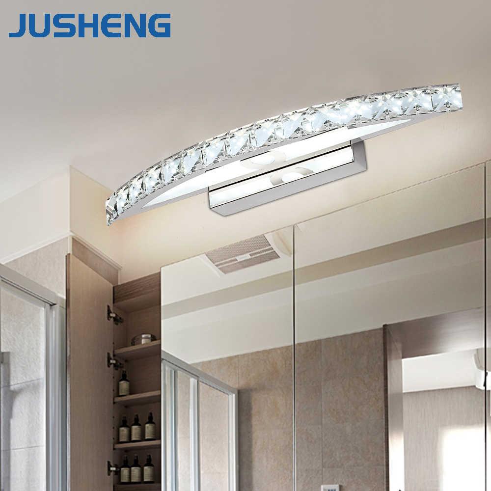 Moderne Kristall Spiegel Wand Lampen in Bad 12 W 12 W 12 W LED