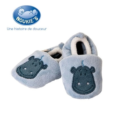Noukies noukie coral fleece baby shoes toddler shoes cotton-made shoes infant first walker