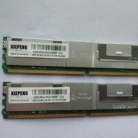 for Dell PowerVault DP600 DP500 DL2000 Server memory 4GB DDR2 ECC FBD 8GB 667MHz FB DIMM 4GB 2Rx4 PC2 5300F Fully Buffered DIMM