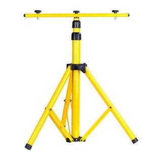 Image 2 - BSOD מתכוונן הארה חצובה LED תאורת Stand עבור LED הארה מחנה עבודה חירום מנורת עבודה אור חצובה צהוב
