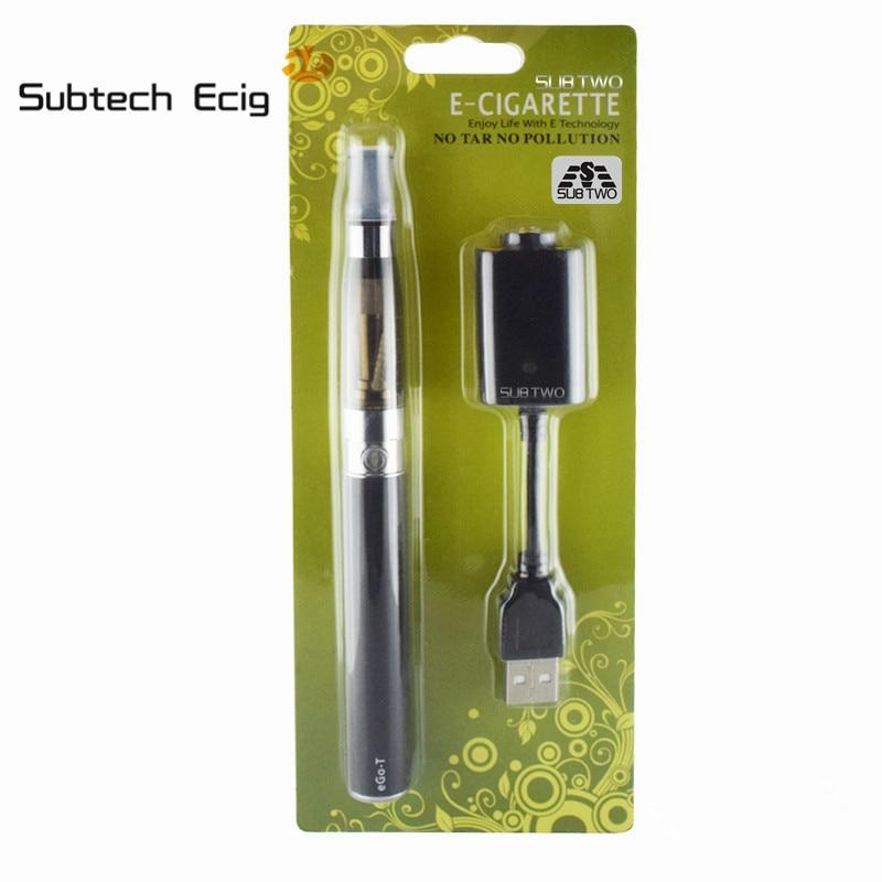 Subtech Ecig tienda ego CE4 Starter Kit de cigarrillo electrónico 650-1100 mAh batería ego 1.6 ml CE4 atomizador ego kit vaporizador