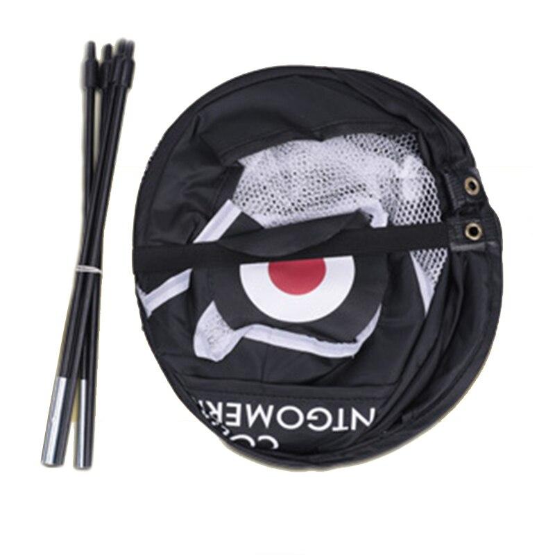 Купить с кэшбэком 2019 NEW Golf Pop UP Indoor Outdoor Chipping Pitching Cages Mats Practice Easy Net Golf Training Aids Metal + Net