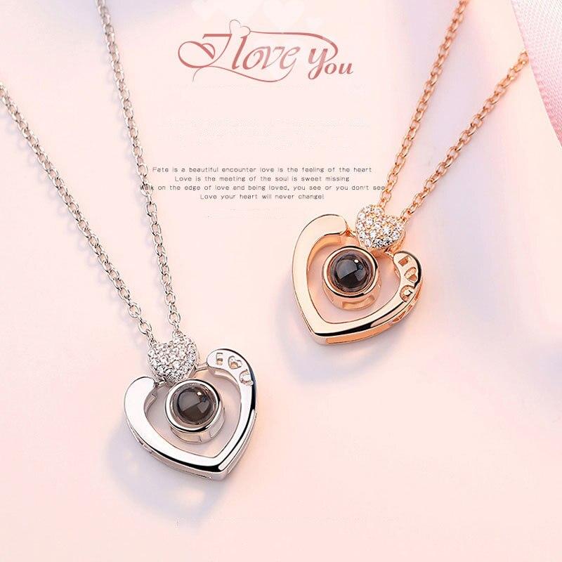 Double-Heart-Shape-Romantic-100-languages-I-love-you-Projection-Pendant-Necklace-Shiny-Zircon-Love-Memory (2)