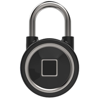 Door Box Lock Bluetooth Cabinets Unlocking Monitor Fingerprint Padlock Safety Keyless