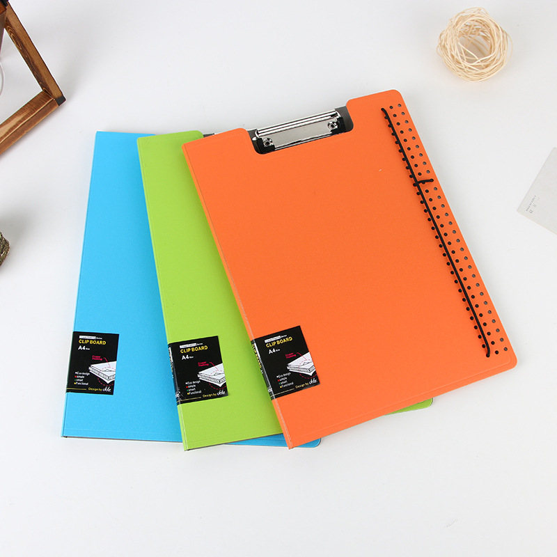 Coloffice Colorful Multi-Function File Folder WordPad Clipboard Clip Filing Production Folder File Document School Office 1PC
