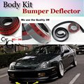 For HONDA accord Bumper Lip Lips / Car Lip Front Spoiler For Car Tuning / TOPGEAR Body Kit  Strip Skirt