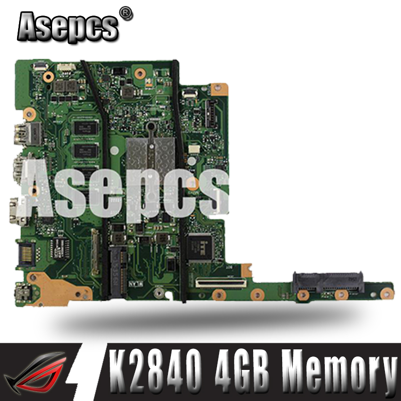 Asepcs For ASUS E402MA E502MA N2840 4GB Memory laptop motherboard tested 100% work original mainboardAsepcs For ASUS E402MA E502MA N2840 4GB Memory laptop motherboard tested 100% work original mainboard