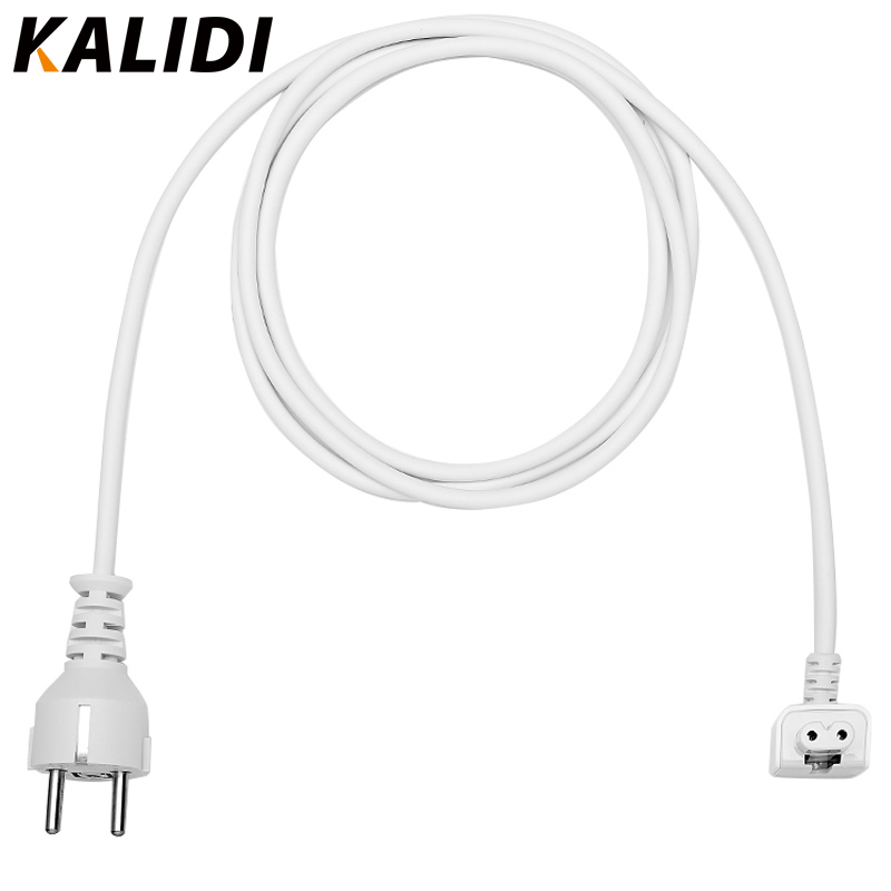 aliexpress com   buy kalidi eu plug 1 8m ac power adapter extension cable for macbook air pro 11