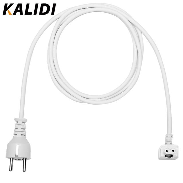 KALIDI Plug UE 1.8 M AC Power Adapter Cabo de Extensão para Macbook Air Pro 11 12 13 15 Poder MacBook plug Adapter UE Cabo de Cabeça