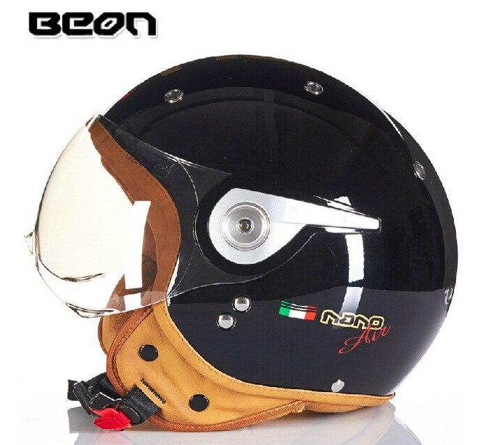 Новая аутентичная обувь Нидерланды BEON модный высокий уход за кожей лица мотоциклетный шлем электронные велосипедные шлемы B110A для мужчин и женщин - Цвет: bright black